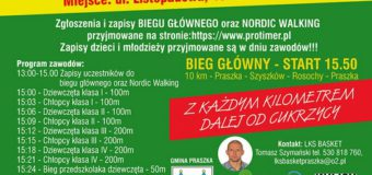 """VI Ogólnopolski Bieg Masowy Praszkowska """"10"""""""