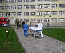 Ewakuacja oleskiego szpitala – ćwiczenia
