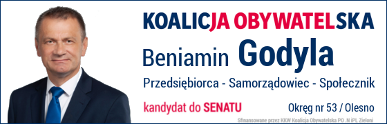 Wybory Parlamentarne 2019, Beniamin Godyla