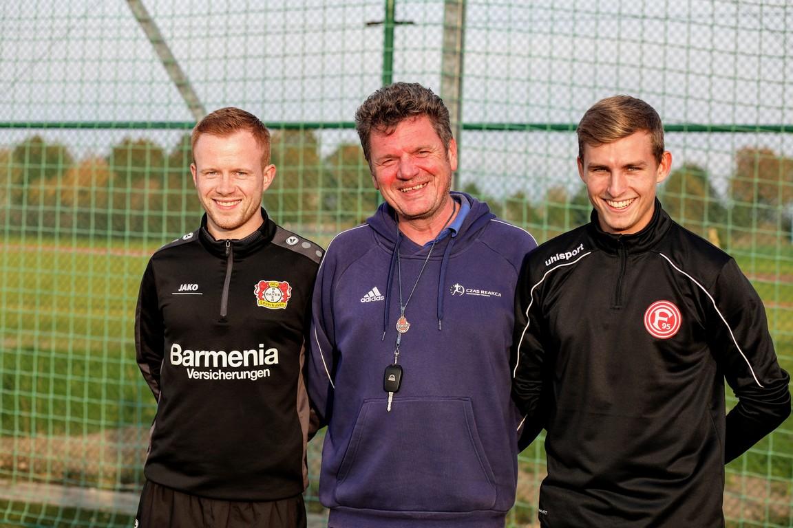 Trenerzy klubów Bundesligi na szkoleniu w Oleśnie