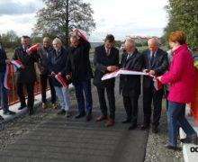 Ścieżka rowerowa po dawnej Paulince z Olesna do Praszki oficjalnie otwarta