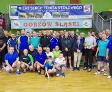 Gorzowska sekcja tenisa stołowego świętowała 10-lecie