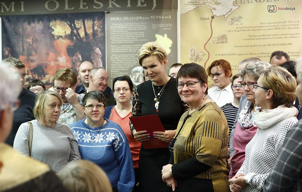 Oleskie perełki na święta – nowa wystawa w muzeum