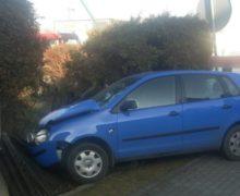 Wypadek dwóch samochodów w Oleśnie