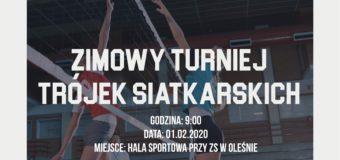 Zimowy Turniej Trójek Siatkarskich – Olesno