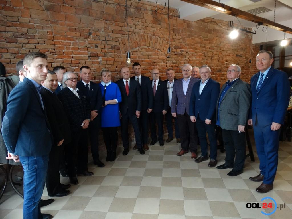 Senator Beniamin Godyla otworzył biuro w Oleśnie