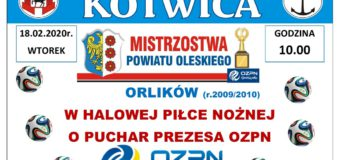 Mistrzostwa Powiatu Oleskiego Orlików – Praszka