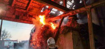 Pożar stodoły w Bzinicy Nowej