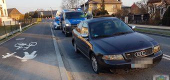 Pijana 19-latka zasnęła za kierownicą i zatrzymała się na drodze krajowej