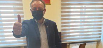 Gmina Olesno rozdaje maseczki swoim mieszkańcom
