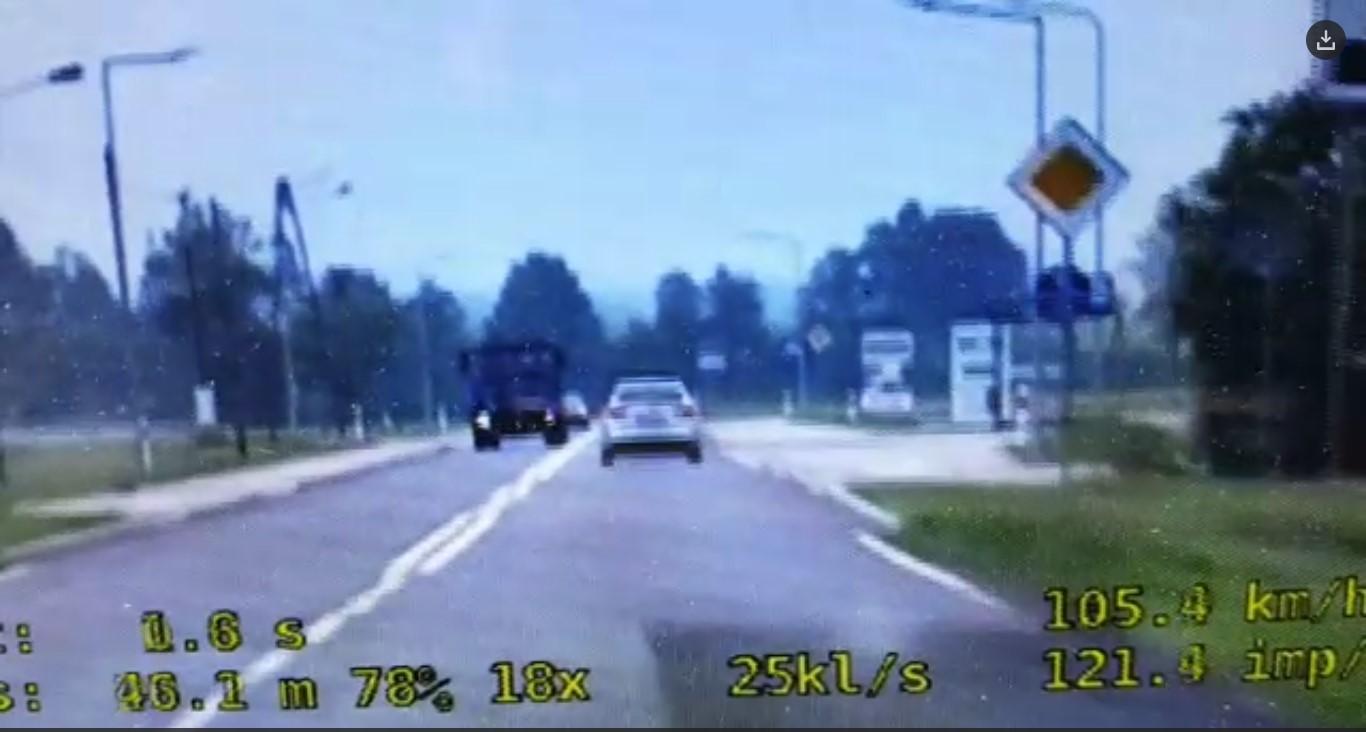 Grupa Speed działa w powiecie. Zatrzymano dwóch piratów drogowych