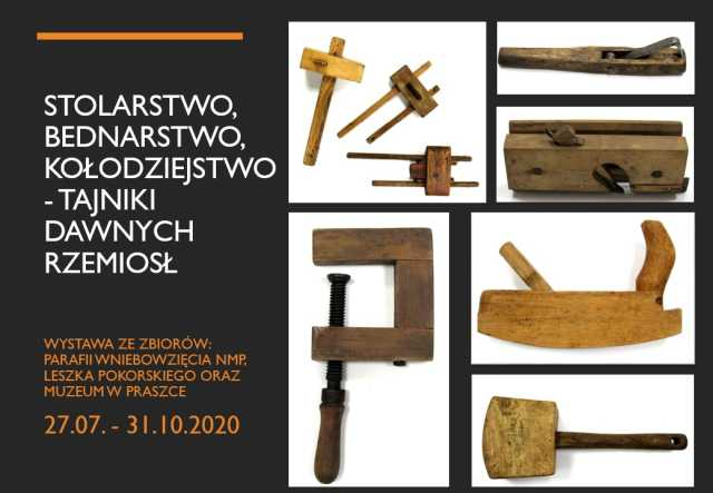 Stolarstwo, bednarstwo, kołodziejstwo – tajniki dawnych rzemiosł – Muzeum w Praszce