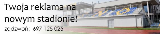 Reklama na nowym stadionie