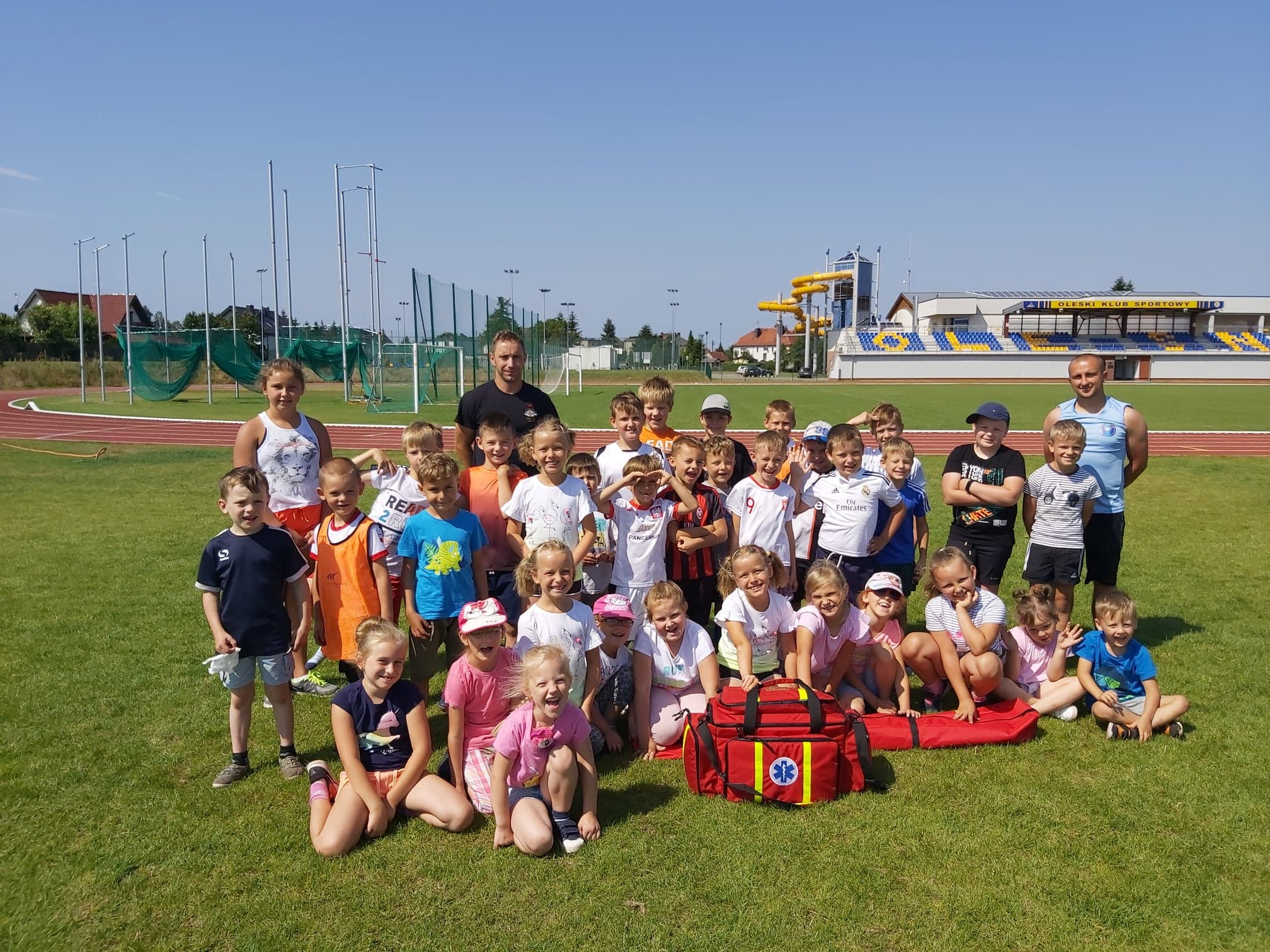 Sportowe półkolonie z OKS-em Olesno