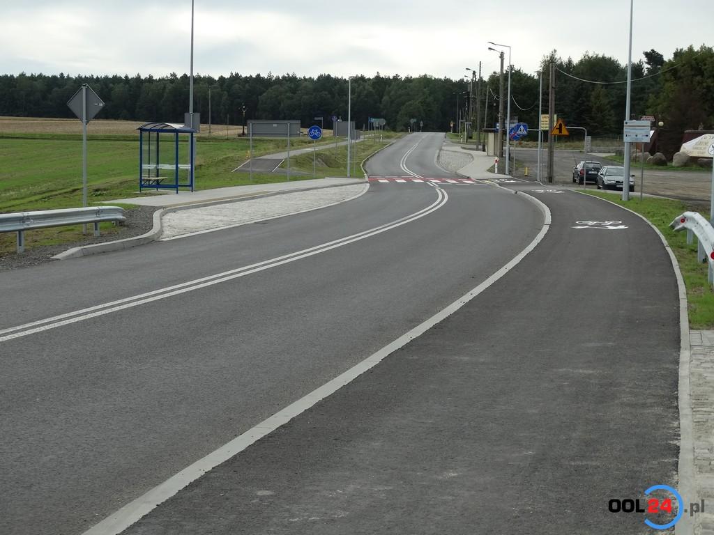 Droga w Boroszowie już otwarta