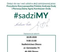 #Sadzimy – Nadleśnictwo Olesno