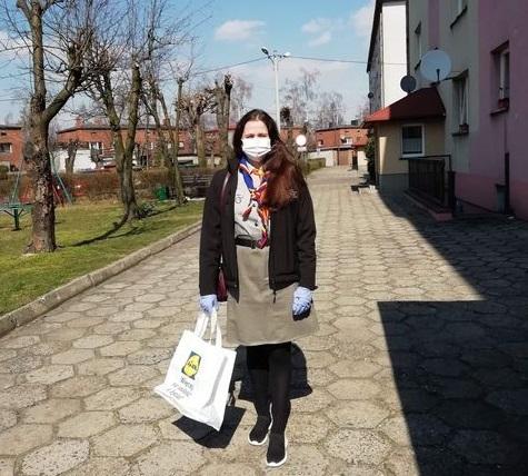 Olescy harcerze niosą pomoc w czasie pandemii