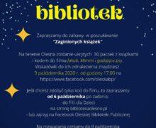 Noc bibliotek – Olesno