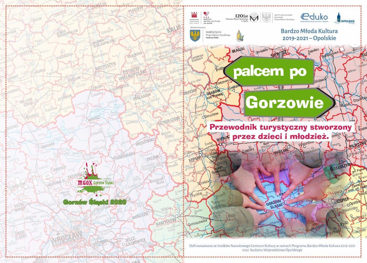 """""""Palcem po Gorzowie"""" – nowy przewodnik turystyczny wydany przez młodych dziennikarzy"""