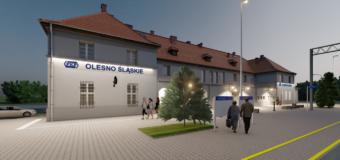 Oleski dworzec ma zyskać nowe oblicze. Są wizualizacje!