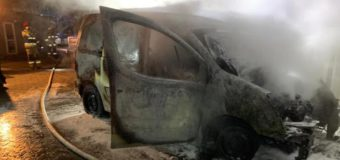Pożar hali i samochodu w Porąbkach