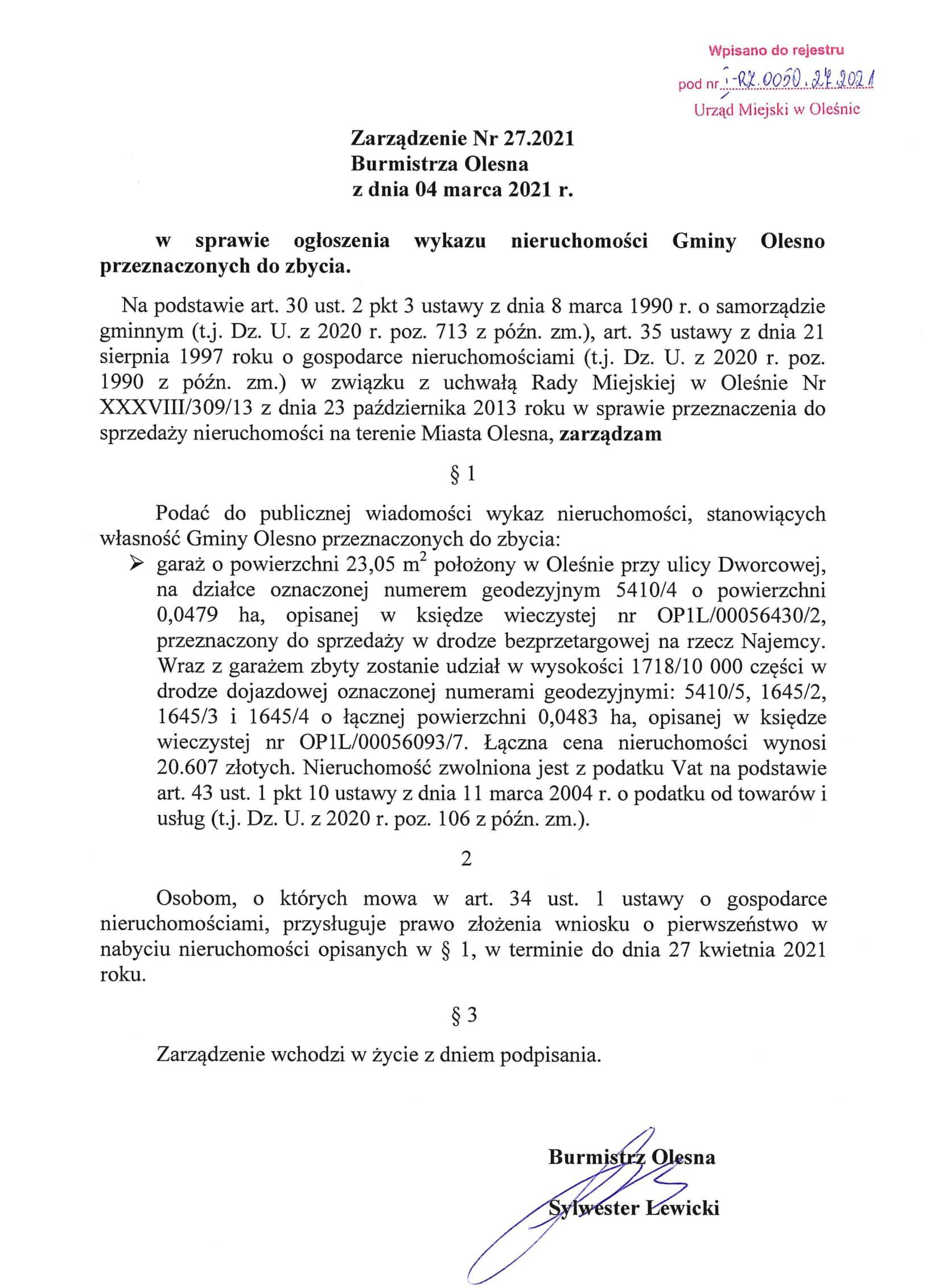 zarzadzenie-nr-27-2021-z-04-03-2021-wykaz-dworcowa-garaz-1