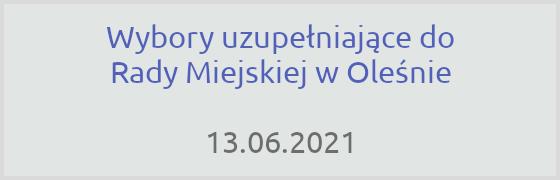 Wybory uzupełniające UM Olesno