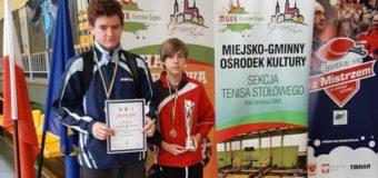 Olescy tenisiści w czołówce województwa
