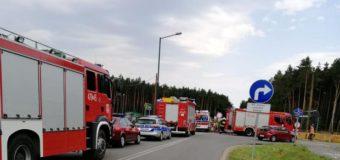 Tragiczny wypadek na budowie obwodnicy Olesna