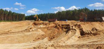 Trwa budowa obwodnicy Olesna