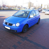 Volkswagen Polo IV 9n 1,4 benzyna 101 KM 2002r 162 000 KM