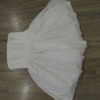SUKIENKA NA WESELE, POPRAWINY (cena do negocjacji) Sukienka ESTELLE - śmietankowa, gorsetowa